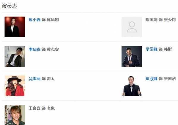 应采儿李灿森反黑 30集电视剧反黑演员表