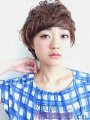 超短短发发型 女生可爱超短发型图片