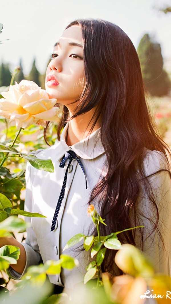 首页 明星八卦 韩国   唯美 长发美女 森系 治愈系 640x1136  提示