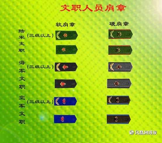 解读中国人民解放军的军衔等级和肩章标志