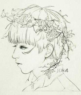 画王俊凯的素描过程 画王俊凯的铅笔画图片