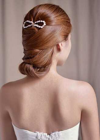 时尚新娘发型 2014欧式新娘发型图片