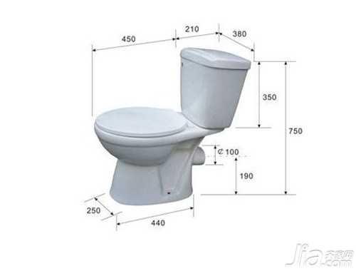 马桶的尺寸 马桶产品规格有哪些