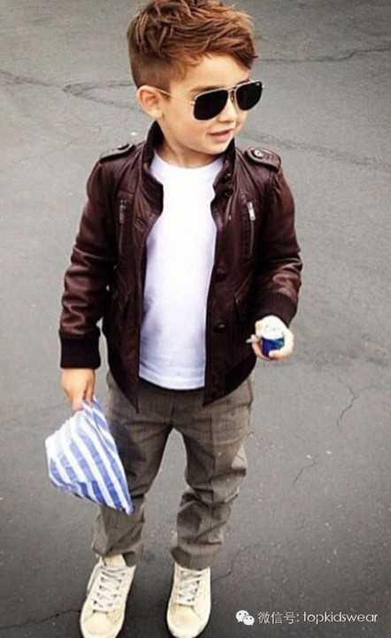 帅的小男孩�yg�_小男生发型 史上最全最酷帅的小男孩发型