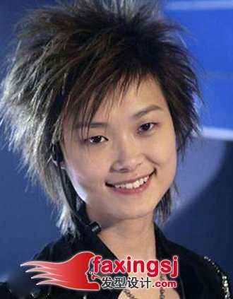 短发发型图片2014女 2014年最新女明星短发发型图片图片