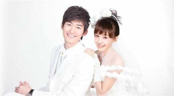 杨洋和郑爽的婚纱照 郑爽拍婚纱照从不笑