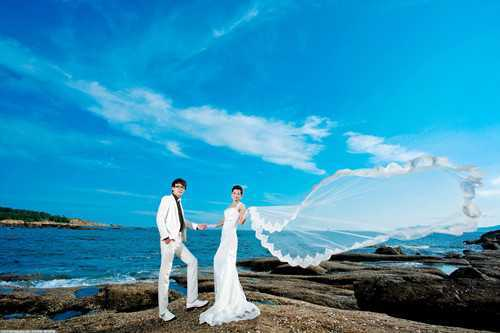 海边婚纱照图片 国内适合婚纱照的海滩有哪些