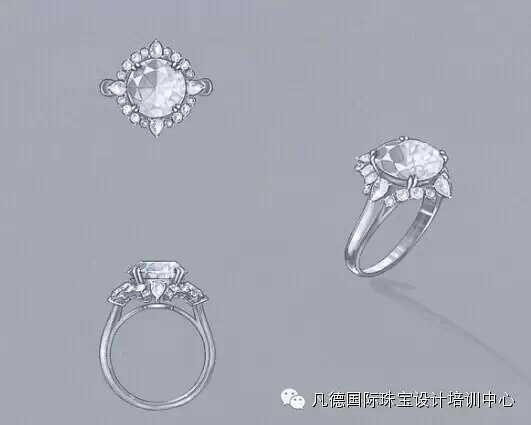 独立珠宝设计师 如何零基础入门成为独立珠宝手绘设计