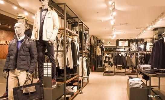 男装服装摆设图片 最潮男装店面装修图片 - yy个性网