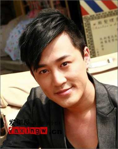 香港男士流行发型 香港TVB当红帅哥男明星发型图片