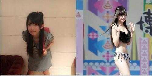 12岁萝莉 日本20岁童颜巨乳与12岁傲人萝莉图片