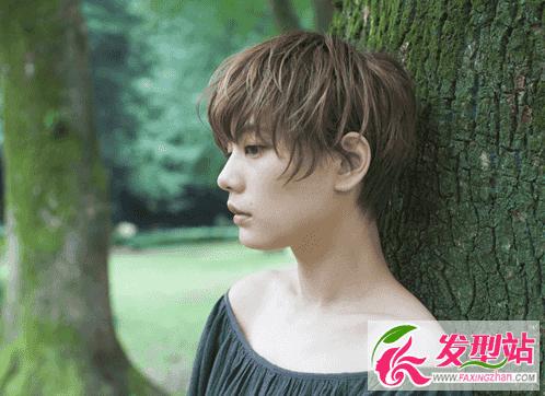 女短发发型设计图片 12款齐耳短发图片2017女生潮发型