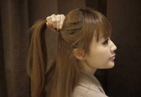 日本  angelababy唯美韩式编发发型教程图解 diy发型甜美公主 angela