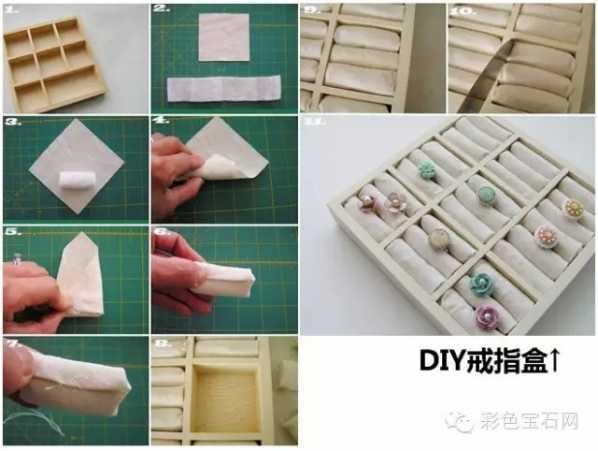 无纺布,剪成成适宜的正方形 3. 腈纶棉,搓成团 4/5.