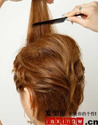 短发扎发型 教美眉短发怎么扎简单好看图片