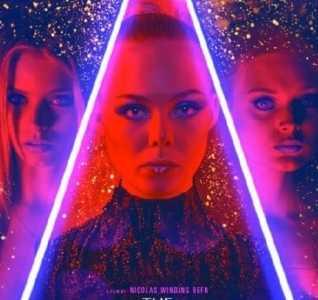艾丽范宁在暮光的剧照 《霓虹恶魔》美版海报出炉