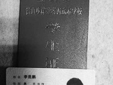 鹅坡武校打死人图片 登封塔沟武校17岁学生当保安