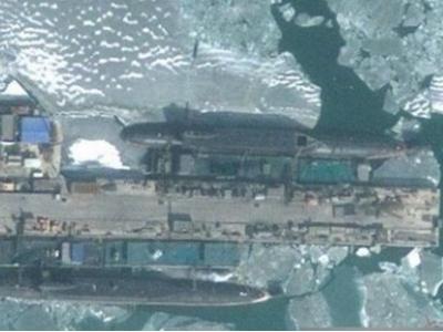 097核潜艇 中国神秘097秦级核潜艇