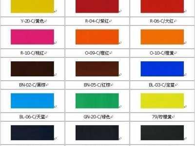 丙烯颜料调色表 想用的颜色怎么调出来