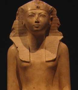 哈特谢普苏特 女王统治下的繁荣――古埃及